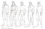 Apollo outfits (lines) by okakopa