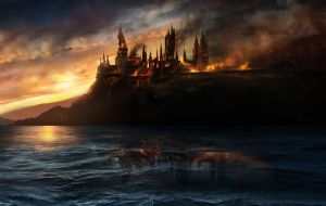 Harry Potter hogwarts wallpaper by marcobarcelon