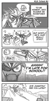 KLK: Senketsu Goes to School 3 by carrinth