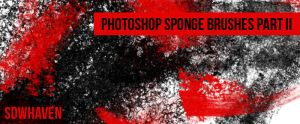 Photoshop Sponge Brushes by sdwhaven