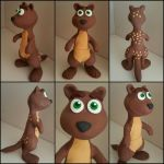 Sheila The Kangaroo sculpture by frozendragonflames