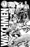 Watchmen Lost Cover by 66lightning