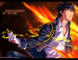Roy Mustang by the103orjagrat