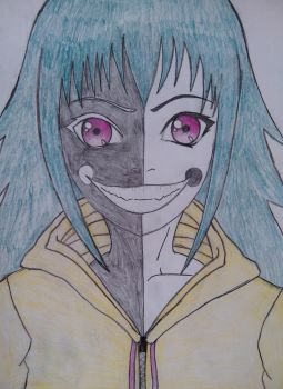 Evil smile by Hinyness