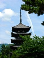 Temple in Nara by Absent-Angel