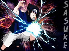Sasuke Uchiha Wallpaper by MelloFan