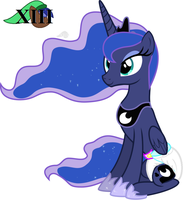 Luna's Adjust to new things by MLPCutePic