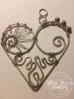 Grandma's Caring Heart by WireMoonJewelry