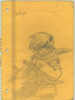 vyse of the blue rogues by juicethehedgehog