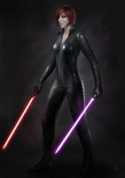 Female Sith by adam-brown