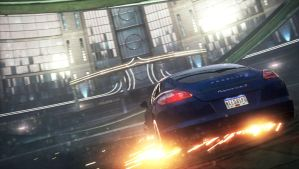Need For Speed Most Wanted: Flaming Panamera P.1 by MRAFPhotoworks