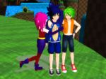 The Sonic Underground (Human Style X3) by Gheroes48