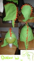 dinosaur hat by shamoosh