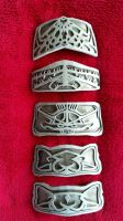 Finished Bracer Plates by LittleMonito