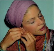 Girl in Turban by ArtOriginal