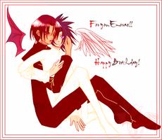 ItaSasu for emorae xD by Amou-chan