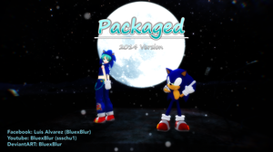 MMD: Miku and Sonic  ~ Packaged ~ 2014 by BluexBlur