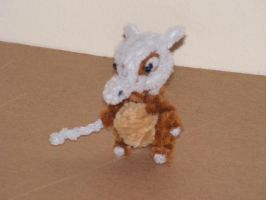 Cubone by fuzzyfigureguy