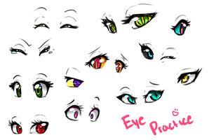 Eye Doodles by Miss-Vani