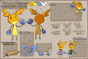 Ickle - Reference Sheet by Nestly