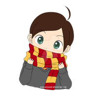 Chibi Nick Sproffy - Harry Potter OC by aninhachanhp