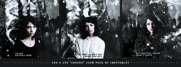 Wattpad Icon Pack - Issues by ineffablely