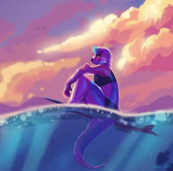 Chill vibes by Ink-aroo