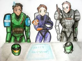 Happy Halo-ween again by SpartanPrincess