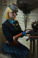 Steampunk Lady_14 by gadget-eneus