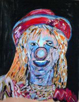 Clown with Blues by isha-1