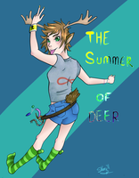The Summer of Deer by Opals-landing