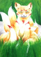 Nine Tail Fox by mandygugs
