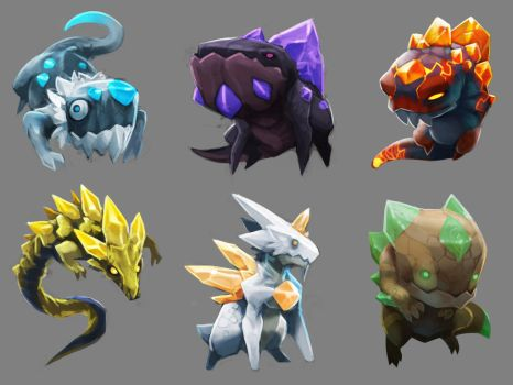Spiral Knights: Elementals Rough by Malakym