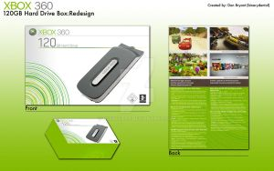 Xbox 360 HD Package Redesign by deebeeArt