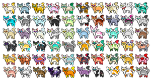 60 Adopts- 5 points each! (OPEN) by thedoomedkitteh