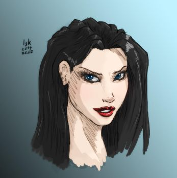 Another Marvel Style Portrait by Iskarien