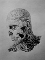 Rick genest by andrea-gatos