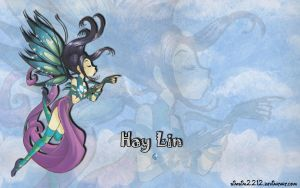 Hay Lin Wallpaper by simsim2212