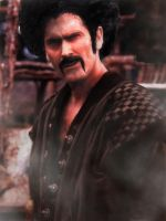 Bruce Campbell as Mr. Satan by OtakuKawaii86