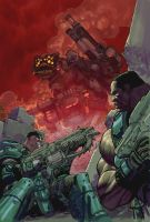 Gears of War color by Chuckdee