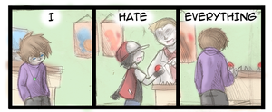 Hate - 6 by Draikinator
