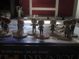 it's mah figurines again~ by XEPICTACOSx