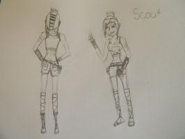 Scout The Courier by Gothalla123