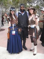 Lord Blackwater @ the SDCC 2013 Steampunk meet #15 by pa68