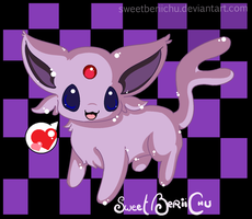 I BE AN ESPEON: NYAA by SweetBeriiChu