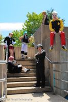 Soul Eater Group Shot by NitsukuCosplay