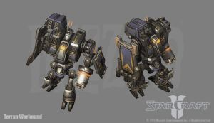 Terran Warhound by PhillGonzo
