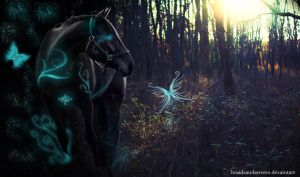 Into The Night by braidsandarrows