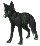 Wolf Adoptable 1 - Open by puqoi-adopts