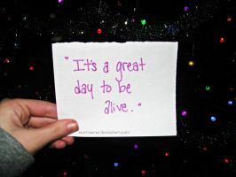 It's a great day by Just-A-DreamerXo